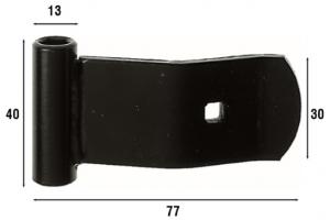 Оконная фурнитура из желтой оцинкованной стали или стали с черным покрытием, артикул 291.