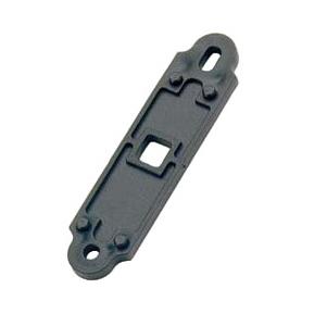 Стопор для жалюзи из оцинкованной стали с желтым покрытием, из стали с черным покрытием, артикул 730.