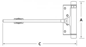Дверные доводчики 115