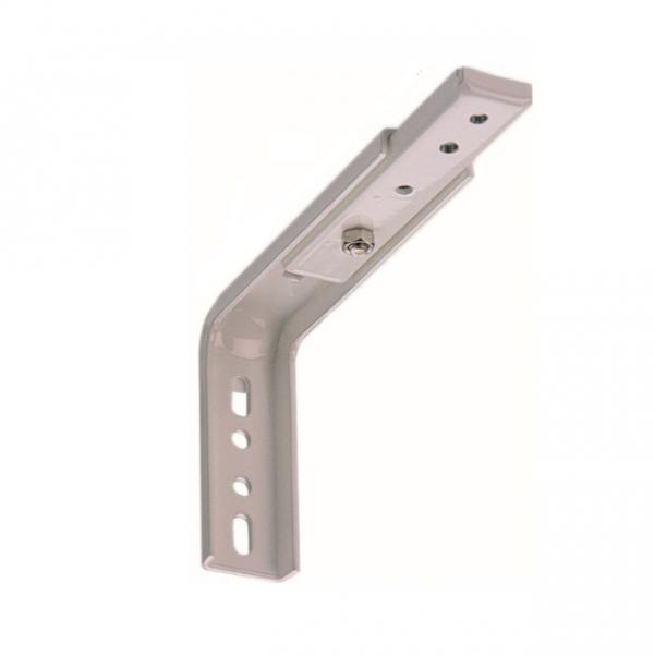 Кронштейны стальные с белым пластиковым покрытием, артикул 2518.