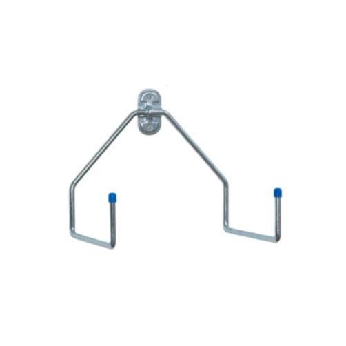 Крюк двойной L-образный из оцинкованной стали, артикул 4070