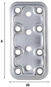 Соединительная пластина из нержавеющей стали 745IN