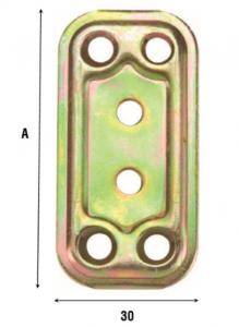 Пластина соединительная 30 мм 748