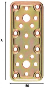 Пластина соединительная 50 мм 770