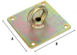 Соединитель плоский с кольцом 860
